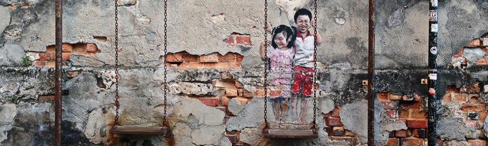 El street art de George Town