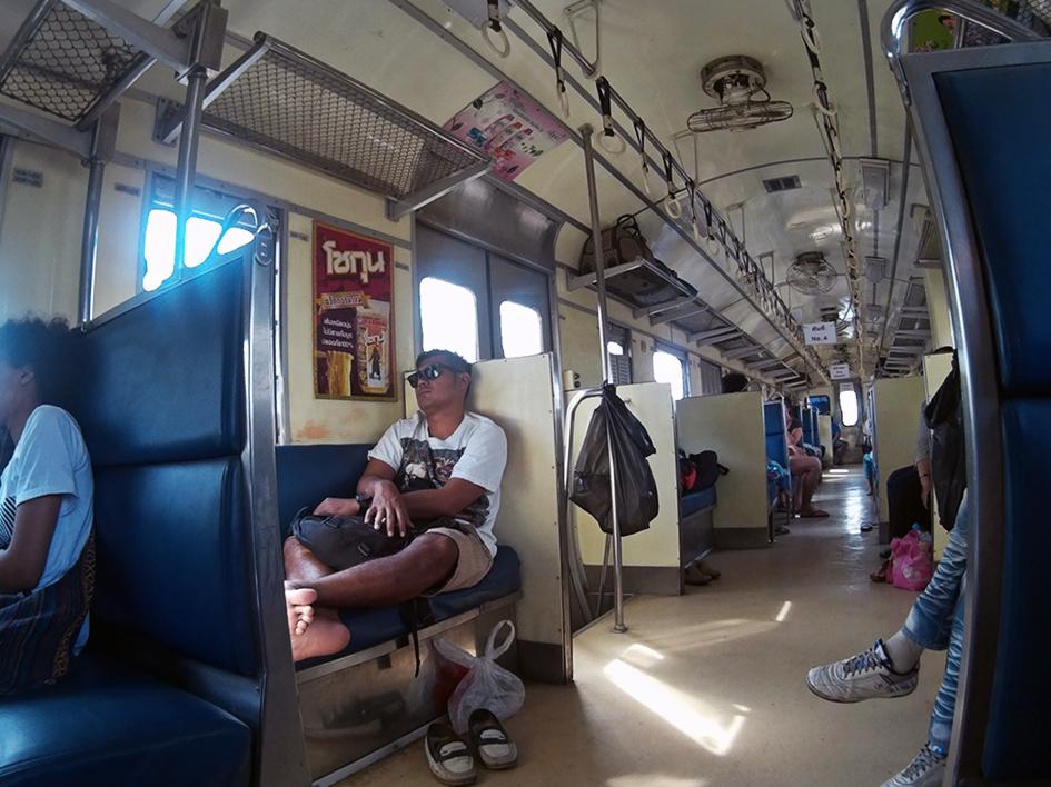 Tren Bangkok - Ayutthaya