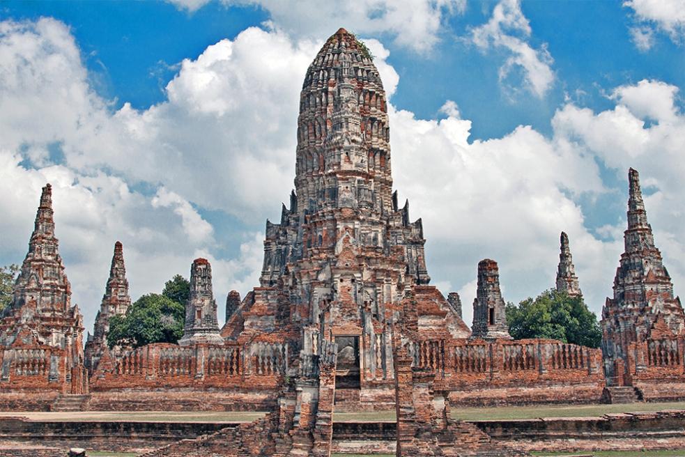 Wat Chaiwatthanaram en Ayutthaya