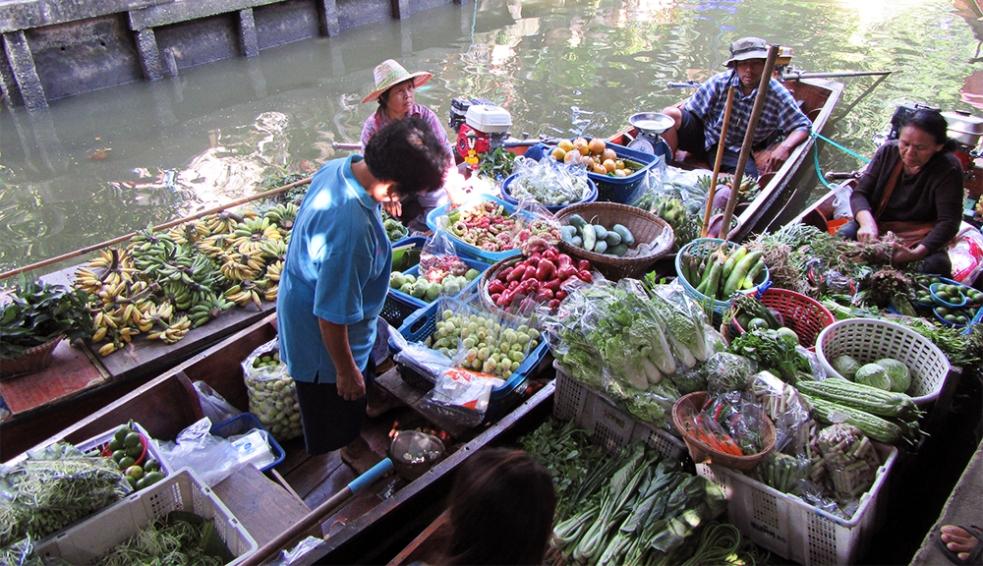 Khlong Lat Mayom en Bangkok