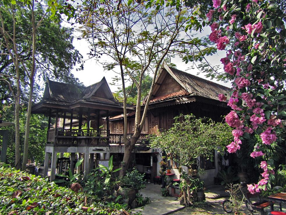 Casas tradicionales tailandesas