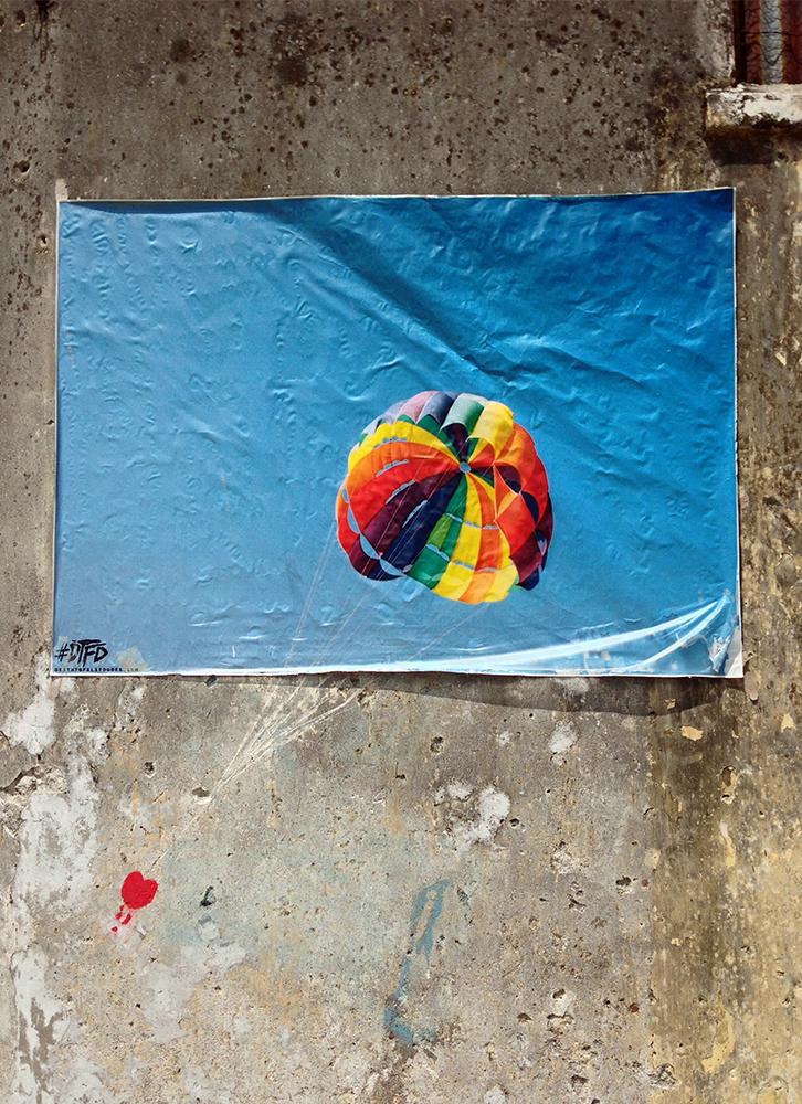 Mural de street art en George Town Penang Malasia