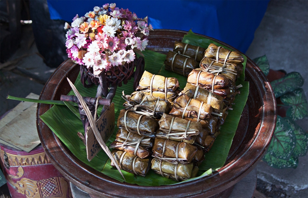 Snack tailandés