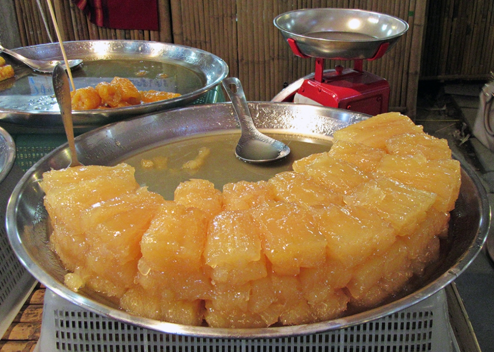 Candied cassava
