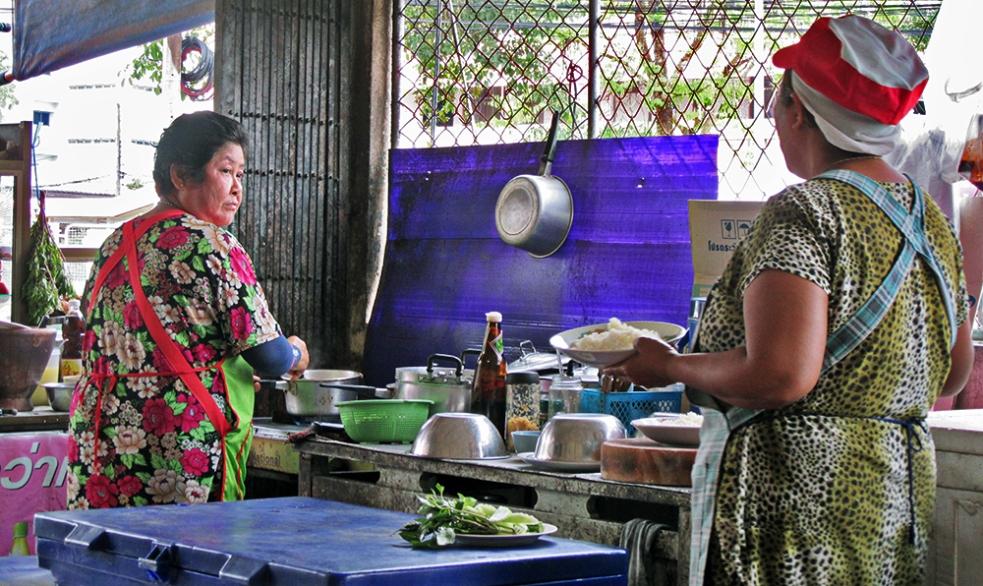 Restaurante típico tailandés