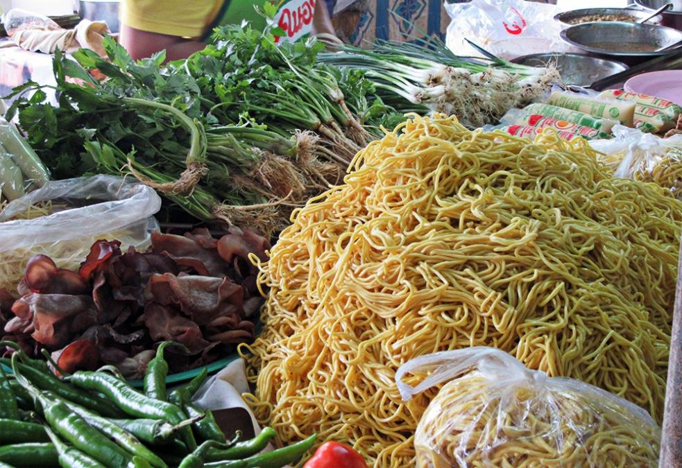 Mercado en Tailandia