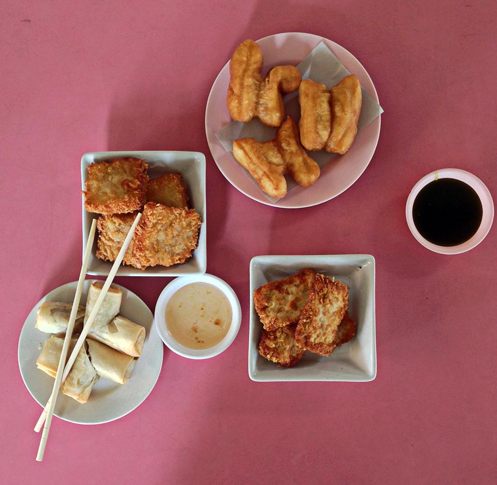 Desayuno típico del sur de Tailandia