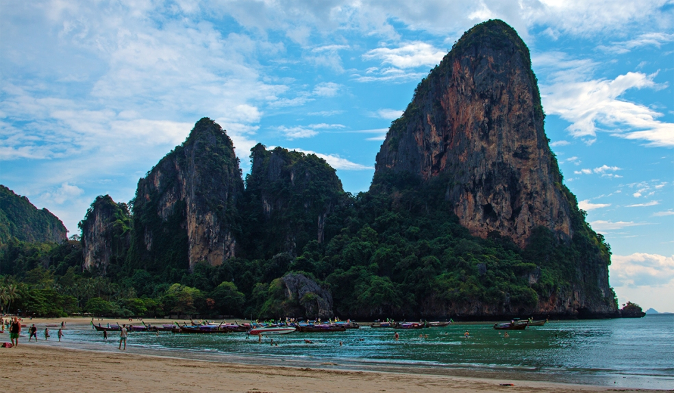 Playas de Tailandia. Railay Beach