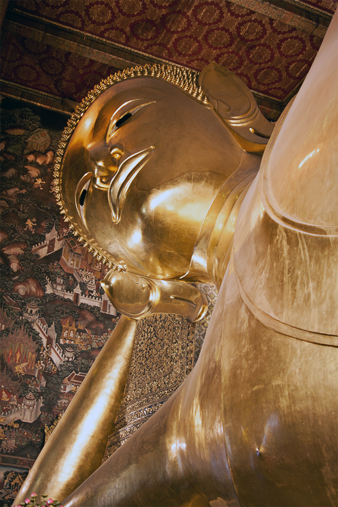 Gran Buda reclinado en Wat Pho, Bangkok
