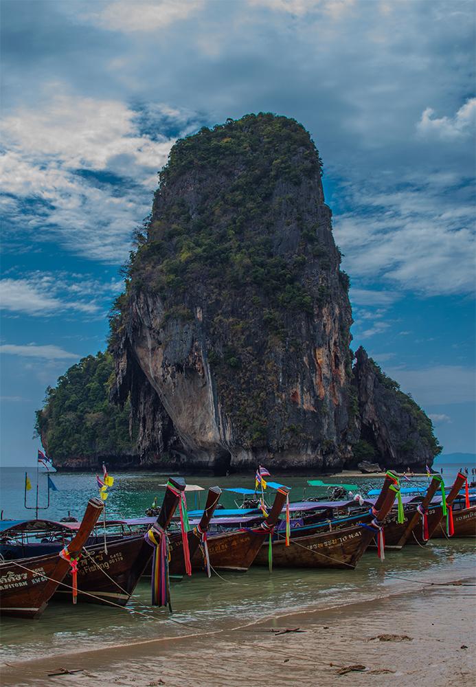 Playa en Krabi Tailandia