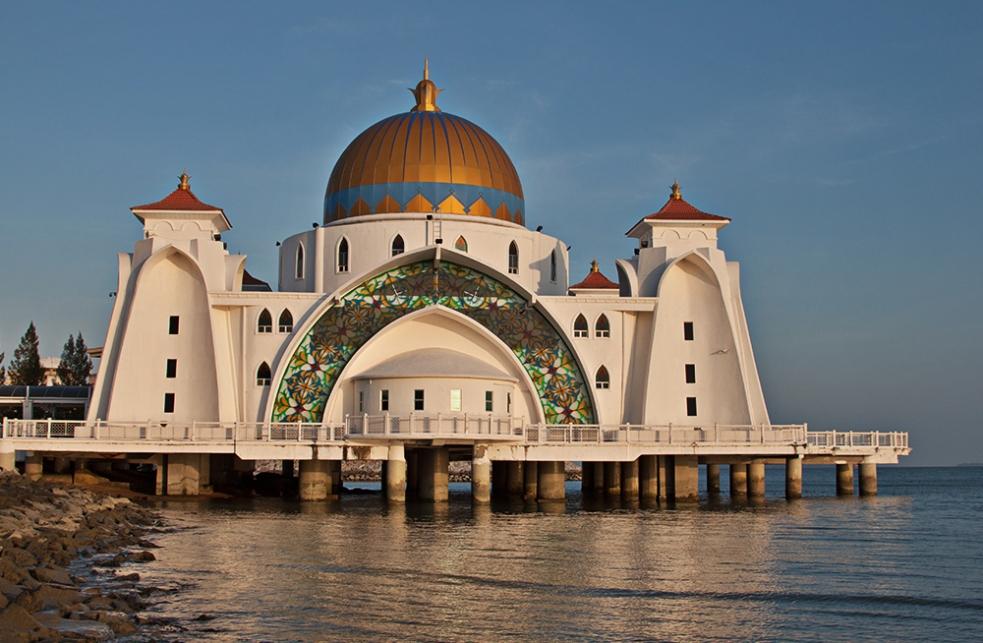 Mezquita flotante de Malaca
