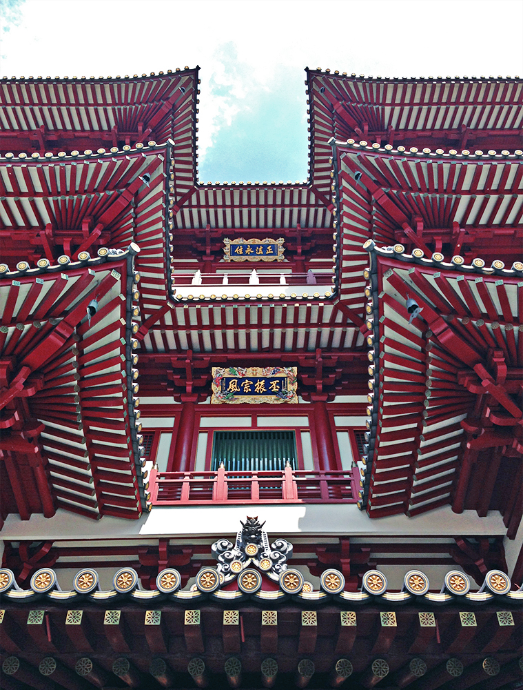 Buddha Tooth Relic Temple en Chinatown