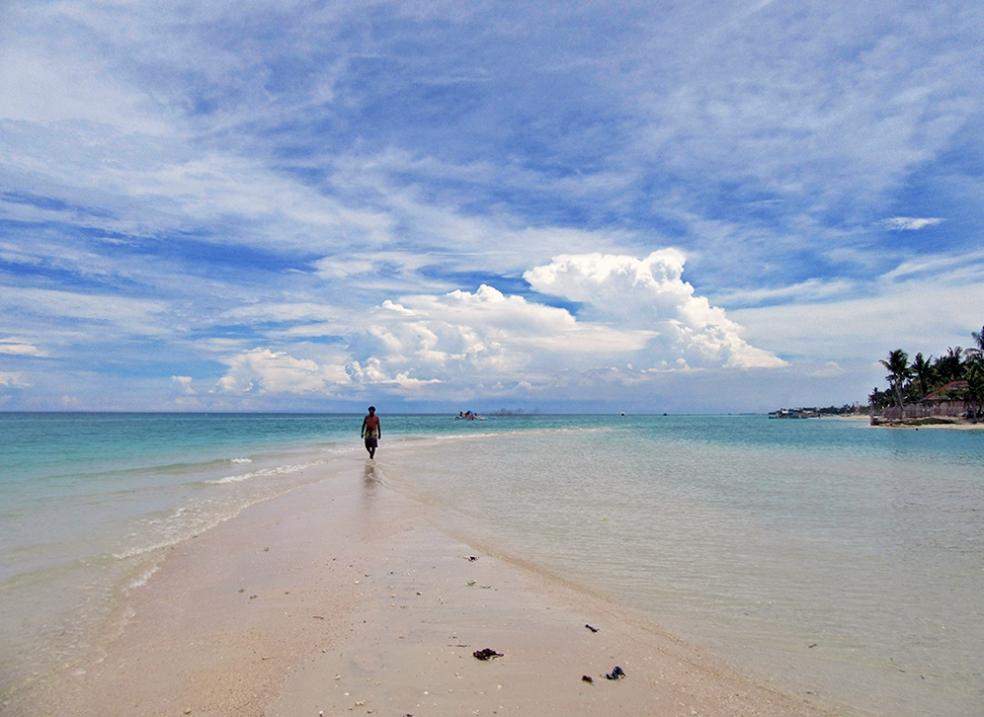 Increíble playa en Filipinas