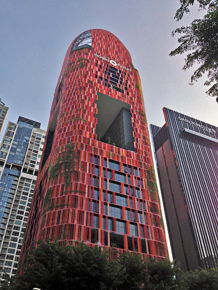 Hotel Oasia en Singapur