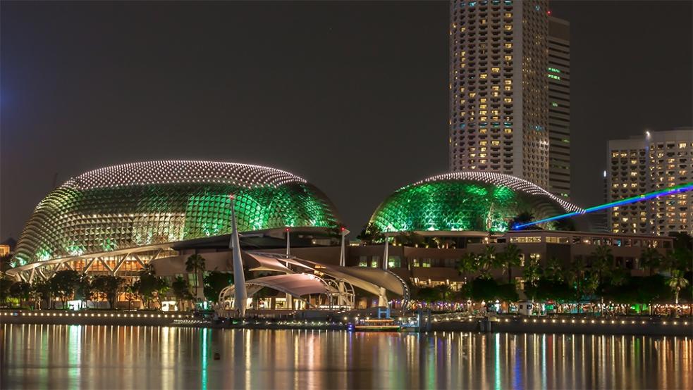 Teatros de la Bahía en Singapur