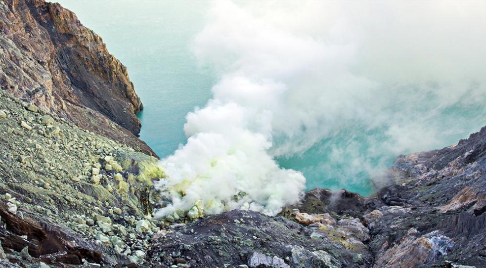 El cráter del Kawa Ijen