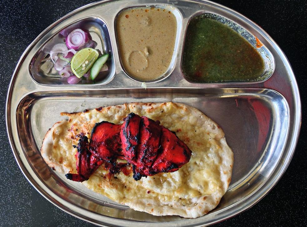 Pollo tandoori en Malasia
