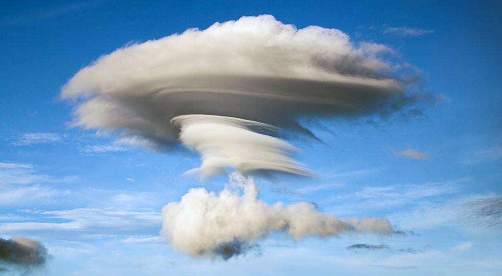 nubes vistas desde el Kawa Ijen