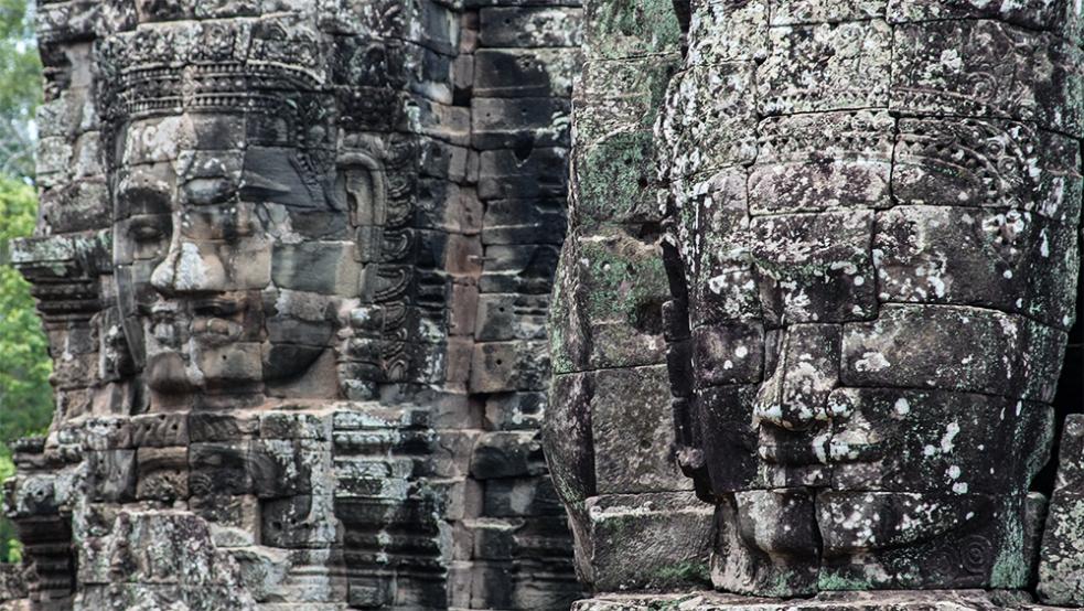 Templo Bayón en Angkor