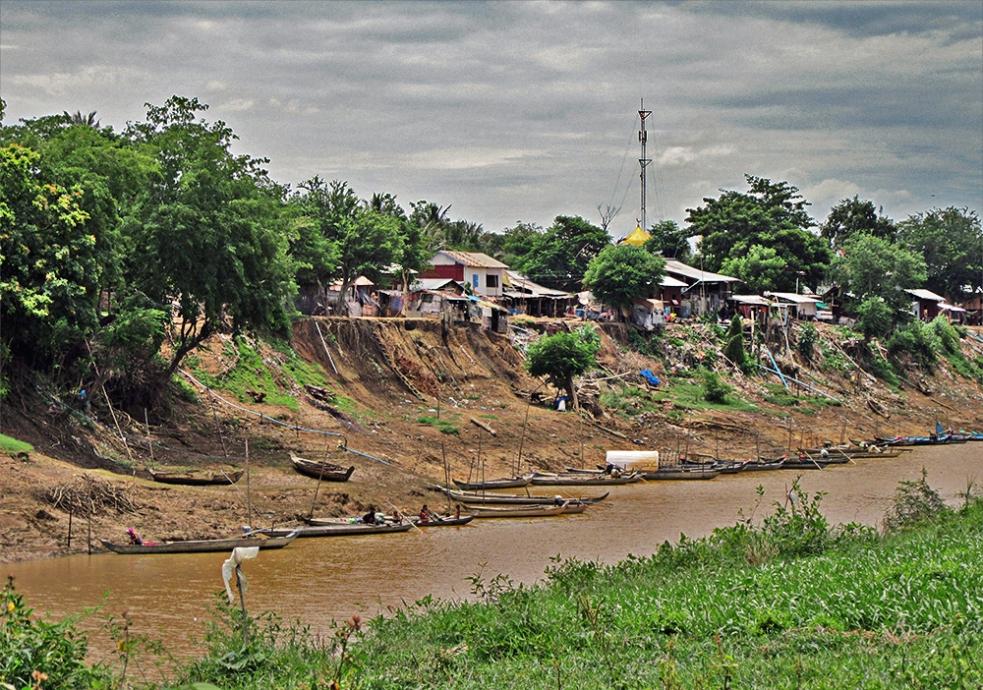 Vistas del lago Tonlé Sap en Battambang
