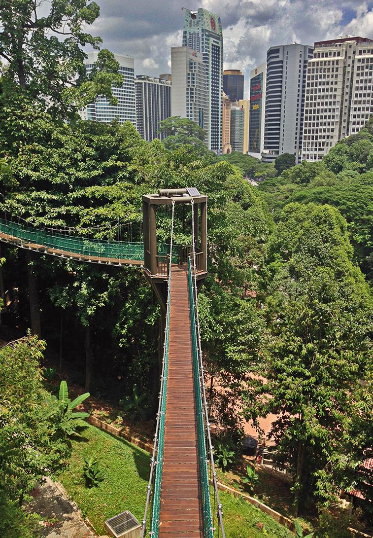 Bukit Nanas en Kuala Lumpur