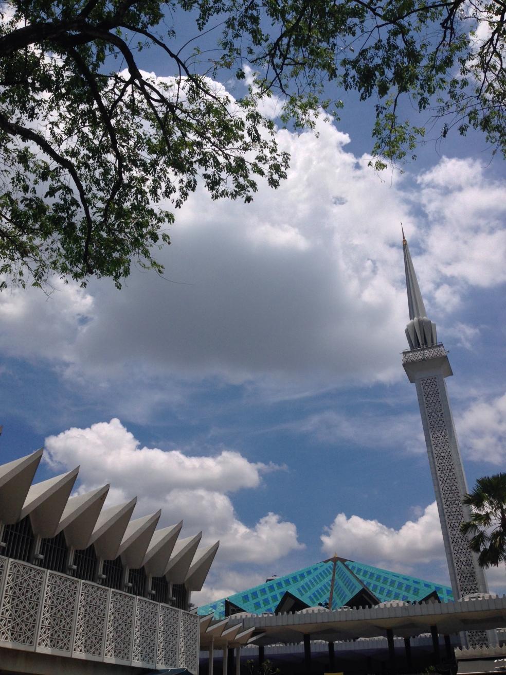 Mezquita Nacional en Kuala Lumpur